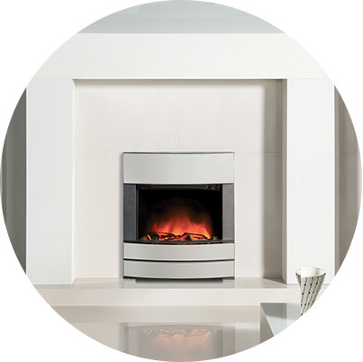 They Also Offer A Flame Effect Option Which, When Operated, Instantly Adds  An Inviting, Warming Glow To The Room. Other Qualities Of An Electric Fire  ...