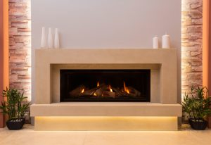 wilshere gas fireplace from The Fireplace Studio, Nottingham