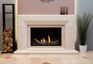 Etheridge Fireplace at The Fireplace Studio