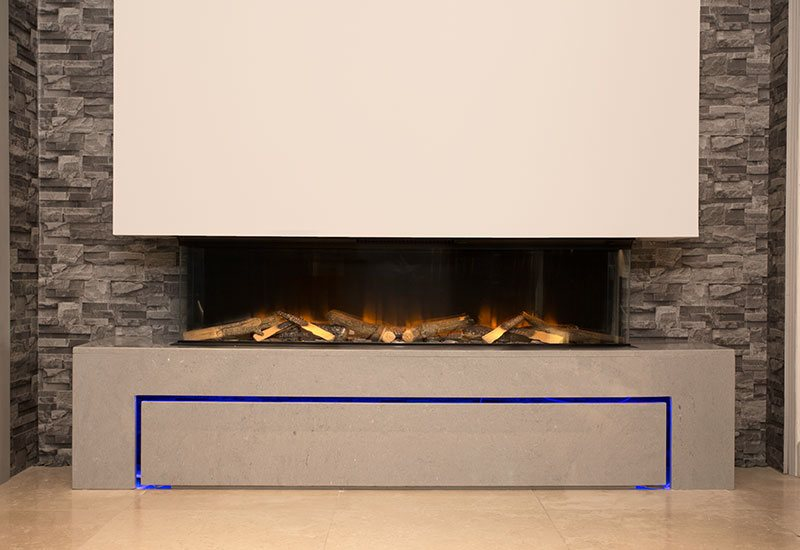 Wall Mounted Electric Fires Image