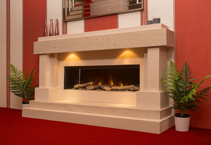 Electric fireplace suites nottingham derby the Fireplace step