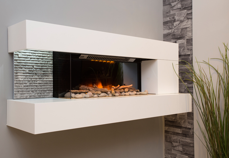 Wall Mounted Electric Fires Nottingham & Derby | The ...