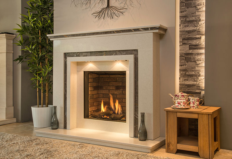 Marble fireplace surrounds nottingham derby the for Fireplace surrounds for gas fires