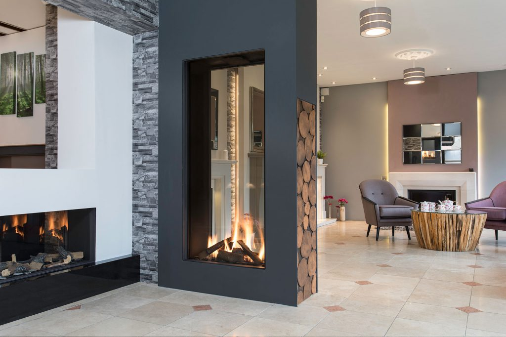 Double Sided Fires Amp Tunnel Fireplaces Nottingham Amp Derby