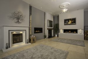 gas and electric fireplaces at The Fireplace Studio Nottingham